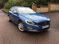USED 2013 63 VOLVO V60 1.6 D2 SE LUX NAV 5d AUTO 113 BHP PLEASE CALL TO VIEW