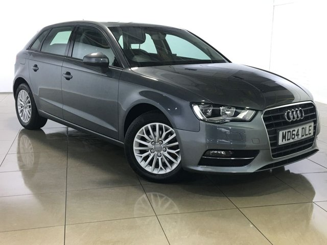 View our 2015 64 AUDI A3 1.6 TDI SE TECHNIK 5d 109 BHP