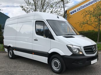2014 MERCEDES-BENZ SPRINTER 2.1 313 CDI MWB 129 HIGH ROOF LOW MILEAGE RWD DELIVERY T.B.A £11950.00