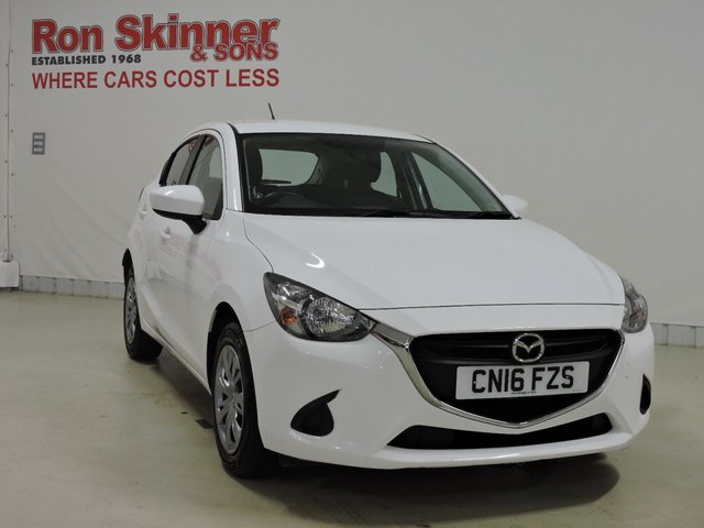 View our 2016 16 MAZDA 2 1.5 SE 5d 74 BHP