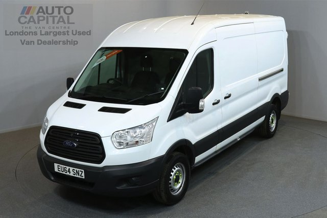 2014 64 FORD TRANSIT 2.2 350 124 BHP L3 H2 LWB MEDIUM ROOF ONE OWNER FROM NEW, SERVICE HISTORY