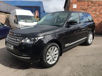 USED 2015 65 LAND ROVER RANGE ROVER 3.0 TDV6 VOGUE 5d 255 BHP One owner full service history
