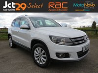 USED 2014 64 VOLKSWAGEN TIGUAN 2.0 MATCH TDI BLUEMOTION TECH 4MOTION DSG 5d AUTO 139 BHP Full VW History / 1 Owner