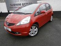 USED 2010 60 HONDA JAZZ 1.3 I-VTEC EX I-SHIFT 5dr AUTO GREAT LOOKING 5dr AUTO WITH FULL SERVICE HISTORY AND A HIGH SPECIFICATION