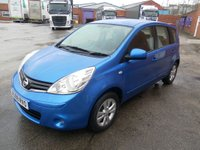 USED 2009 09 NISSAN NOTE 1.6 ACENTA 5d AUTO 110 BHP
