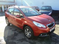 2015 PEUGEOT 2008 blue hdi 1.6 Active £SOLD