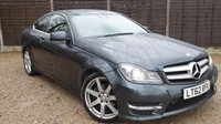 """USED 2012 62 MERCEDES-BENZ C CLASS 2.1 C220 CDI BLUEEFFICIENCY AMG SPORT 2dr AUTO Xenons, Cruise, 18"""" Alloys"""