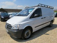2014 MERCEDES-BENZ VITO 2.1 113 CDI LWB 136 BHP 21141 MILES ONLY £10995.00