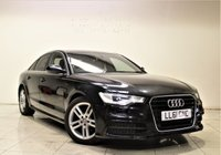 USED 2011 61 AUDI A6 2.0 TDI S LINE 4d AUTO 175 BHP +  SAT NAV + AIR CON + SERVICE HISTORY + LEATHER SEATS