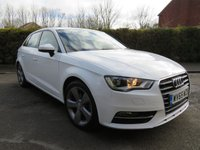 USED 2015 65 AUDI A3 1.6 TDI SPORT 5d 109 BHP 1 Former Owner / Low Miles!