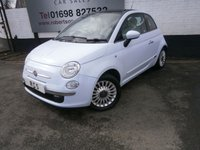 USED 2008 58 FIAT 500 1.2 LOUNGE 3dr LOW TAX / INSURANCE