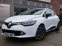 USED 2015 65 RENAULT CLIO 0.9 DYNAMIQUE NAV TCE 5d 89 BHP LOW MILEAGE FULL SERVICE HISTORY TCE ENGINE £20 A YEAR TO TAX