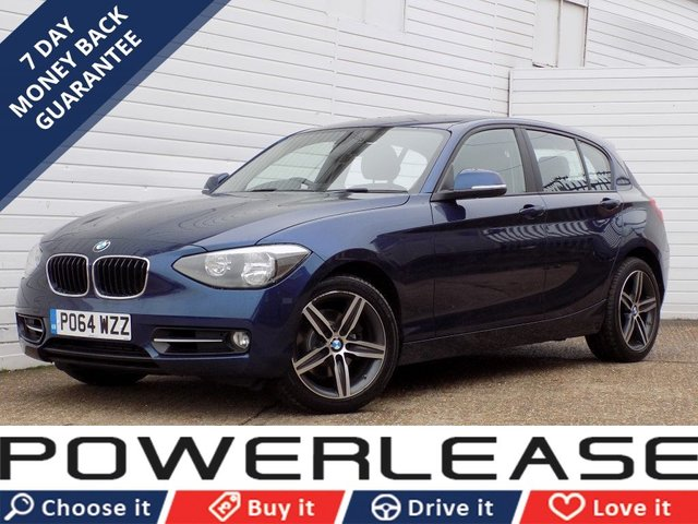 USED 2014 64 BMW 1 SERIES 2.0 120D XDRIVE SPORT 5d 181 BHP 1 OWNER DAB RADIO P/SENSORS