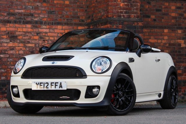 2012 12 MINI ROADSTER 1.6 John Cooper Works Roadster 2dr