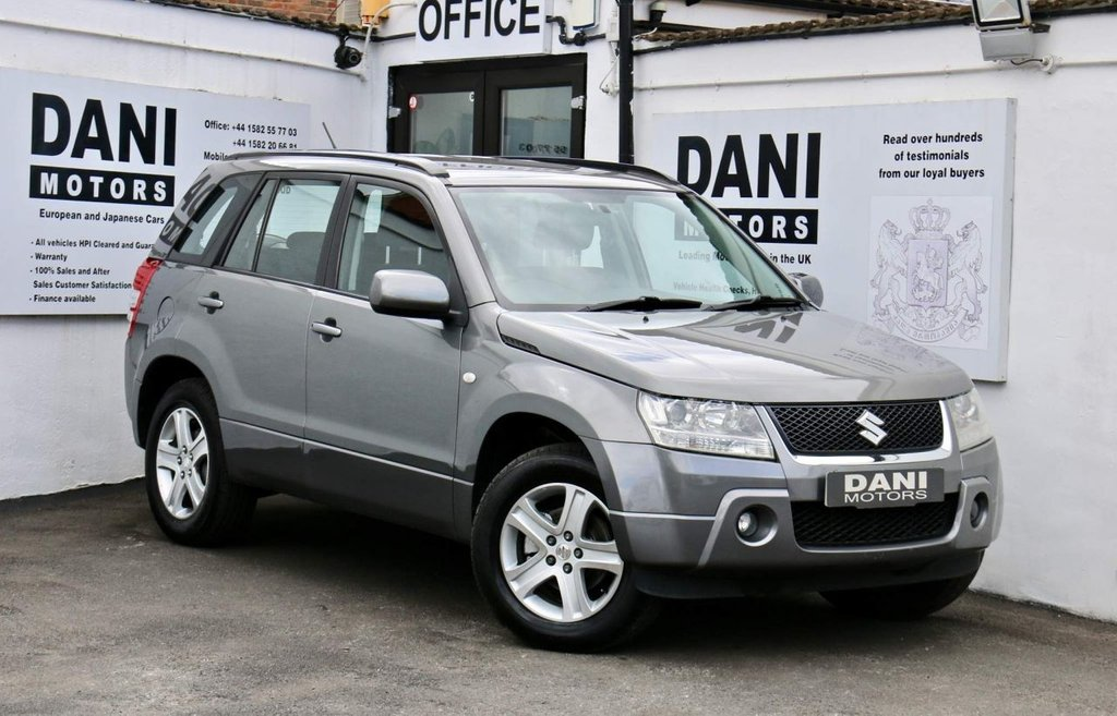 USED 2007 57 SUZUKI GRAND VITARA 2.0 16v 5dr *LPG FITTED*