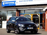 USED 2015 15 VOLVO XC60 2.0 D4 R-DESIGN LUX NAV 5dr *Winter Pack* **ONLY 9000 MILES FROM NEW**