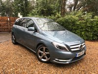 2012 MERCEDES-BENZ B CLASS 1.6 B200 BLUEEFFICIENCY SPORT 5d AUTO 156 BHP £12489.00
