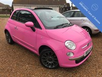 USED 2010 10 FIAT 500 1.2 C POP 3d 69 BHP Over £1000 of factory fitted options
