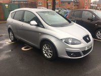 USED 2013 13 SEAT ALTEA XL 1.6 CR TDI SE DSG 5d AUTO 103 BHP AUTOMATIC SEAT ESTATE WHICH IS VERY CHEAP TO RUN AND EXCELLENT SPECIFICATION WITH CLIMATE CONTROL, ALLOY WHEELS AND PARKING SENSORS! FULL SEAT SERVICE HISTORY AND EXCELLENT FUEL ECONOMY WITH LOW CO2 EMISSIONS(129G/KM) AND LOW ROAD TAX!