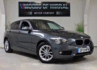 2013 BMW 1 SERIES 2.0 116D SE 5d 114 BHP £7480.00