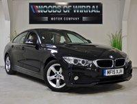 2015 BMW 4 SERIES 2.0 420D SE GRAN COUPE 4d AUTO 181 BHP £13880.00