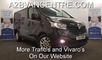 USED 2015 15 RENAULT TRAFIC 1.6DCi  SL27 SPORT ENERGY 140 BHP with Sat Nav Air Con Bluetooth *Over The Phone Low Rate Finance Available*   *UK Delivery Can Also Be Arranged*           ___________       Call us on 01709 866668 or Send us a Text on 07462 824433