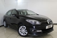 USED 2014 14 RENAULT MEGANE 1.5 DYNAMIQUE TOMTOM ENERGY DCI S/S 5DR 110 BHP SERVICE HISTORY + BLUETOOTH + CRUISE CONTROL + MULTI FUNCTION WHEEL + CLIMATE CONTROL + 16 INCH ALLOY WHEELS
