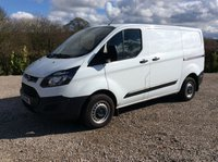 USED 2016 16 FORD TRANSIT CUSTOM 290 100PS SWB WHITE VAN