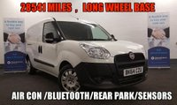 USED 2014 64 FIAT DOBLO 1.6 16V MULTIJET LWB 28541 MILES ,Long Wheel Base . 105 BHP with Air Con, Bluetooth *Over The Phone Low Rate Finance Available*   *UK Delivery Can Also Be Arranged*           ___________       Call us on 01709 866668 or Send us a Text on 07462 824433