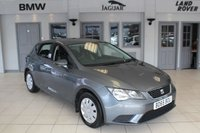 USED 2015 65 SEAT LEON 1.6 TDI S 5d 110 BHP FULL MAIN DEALER SERVICE HISTORY + BLUETOOTH + FREE ROAD TAX + TOUCH SCREEN MONITOR + ELECTRIC WINDOWS + DAB RADIO