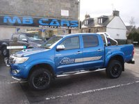 "USED 2014 14 TOYOTA HI-LUX 3.0 INVINCIBLE 4X4 D-4D DCB 1d AUTO 169 BHP AUTOMATIC, ONLY 23000 MILES FROM NEW "" NO VAT"""