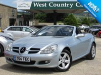 USED 2004 54 MERCEDES-BENZ SLK 1.8 SLK200 KOMPRESSOR 2d 161 BHP Great Value Hard Top Convertible