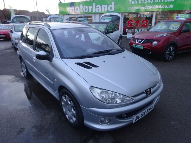 USED 2004 04 PEUGEOT 206 1.4 SW QUIKSILVER 5d 88 BHP **JUST ARRIVED **01543 877320**
