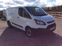 USED 2016 66 FORD TRANSIT CUSTOM 290 *125PS* SWB WHITE VANS
