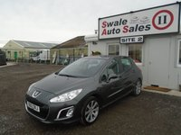 USED 2012 12 PEUGEOT 308 1.6 ACTIVE 5d 120 BHP £15 PER WEEK NO DEPOSIT - SEE FINANCE LINK BELOW