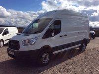 USED 2015 15 FORD TRANSIT 350 125PS L3H3 LWB H/R WHITE VAN