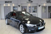USED 2014 64 BMW 4 SERIES 2.0 420D M SPORT 2d 181 BHP FULL RED LEATHER SEATS + SAT NAV + XENON HEADLIGHTS + BLUETOOTH + HEATED FRONT SEATS + DAB RADIO + PARKING SENSORS + 18 INCH ALLOYS + CRUISE CONTROL