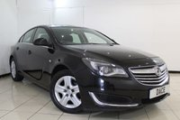 USED 2015 15 VAUXHALL INSIGNIA 2.0 DESIGN NAV CDTI ECOFLEX S/S 5DR 138 BHP SERVICE HISTORY + SAT NAVIGATION + BLUETOOTH + CRUISE CONTROL + MULTI FUNCTION WHEEL + CLIMATE CONTROL + 16 INCH ALLOY WHEELS