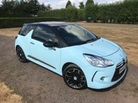 USED 2012 M CITROEN DS3 1.6 THP DSPORT 3d 156 BHP Full Citroen History Leather X1 Lady Owner! Fully Documented Citroen Main Dealer Service History, Full Leather Upholstery, Fastiduously Maintained By Citroen, Recently Serviced, MOT 03/19, Truly Stunning Unmarked Example, Blistering Performance, Aux/Cd/Stereo, Bluetooth Media Streaming And Phone Handsfree, X2 Keys, Auto Lights On, Auto Wipers, Dimming Mirrors, Only One Lady Owner From New, Timing Chain Replaced By Citroen @ 39000, RARE Botticelli Blue Paint, Full Set Of Carpet Mats, Gear Knob And Keys In Body Colour, Drives And Looks Perf