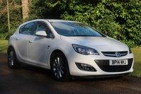 2014 VAUXHALL ASTRA 1.6 ELITE 5d AUTO 115 BHP £SOLD