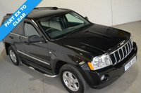2008 JEEP GRAND CHEROKEE 3.0 V6 CRD LIMITED 5d 215 BHP £4490.00