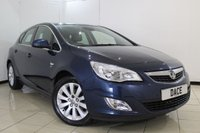 USED 2012 12 VAUXHALL ASTRA 2.0 ELITE CDTI S/S 5DR 157 BHP FULL SERVICE HISTORY + HEATED LEATHER SEATS + SAT NAVIGATION + PARKING SENSOR + BLUETOOTH + CRUISE CONTROL + MULTI FUNCTION WHEEL + CLIMATE CONTROL + ALLOY WHEELS