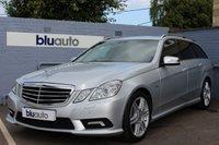 2011 MERCEDES-BENZ E 350 3.0 CDI BLUE EFFICIENCY SPORT 5d AUTO 265 BHP £15970.00