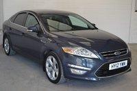 2012 FORD MONDEO 2.0 TITANIUM X TDCI 5d 161 BHP £7750.00