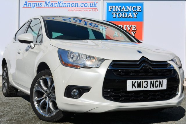 2013 13 CITROEN DS4 2.0 HDI DSTYLE 5d Great Value Automatic