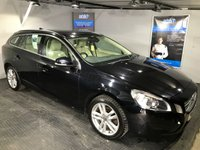 USED 2012 62 VOLVO V60 2.0 D4 SE 5d AUTO 161 BHP Bluetooth  :  Part leather upholstery : Rear parking sensors  :  Fully stamped service history
