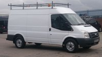 USED 2009 09 FORD TRANSIT 2.4 350 MWB SHR 1d 115 BHP 1 OWNER 2 KEYS \ FREE 12 MONTHS WARRANTY COVER ///