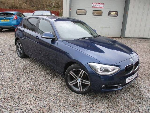 2014 63 BMW 1 SERIES 1.6 114i Sport Sports Hatch (s/s) 5dr