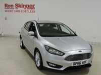 USED 2016 66 FORD FOCUS 1.0 ZETEC 5d 124 BHP with rear parking assist