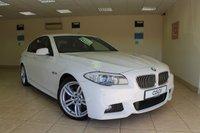2011 BMW 5 SERIES 3.0 530D M SPORT 4d AUTO 255 BHP SALOON £16450.00